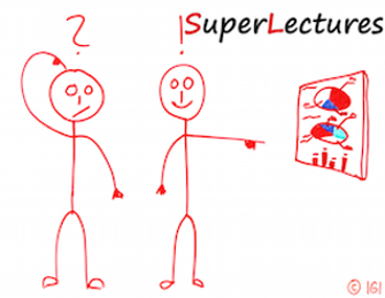 Superlectures aligned lectures
